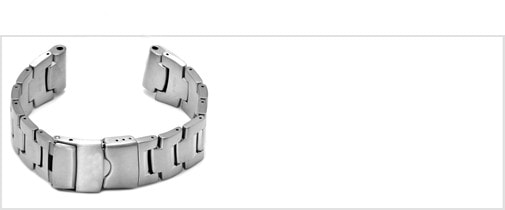 Watch Bracelet in 22mm metal made