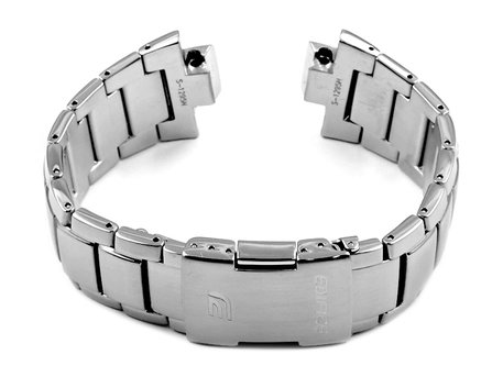 Genuine CASIO Replacement Stainless Steel Watch Strap Bracelet  for EQW-A1000DB, EQW-M1100DB
