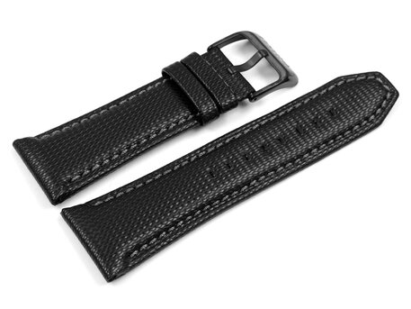 Genuine Festina Replacement Black Leather Watch Strap  F16569