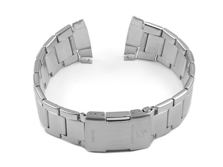 Genuine Casio Stainless Steel Watch Strap Bracelet Casio for Wave Ceptor WVQ-M410D