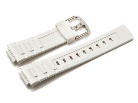 Genuine Casio Replacement White Resin watch strap forBGA-110-7, BGR-3003-7