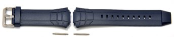 Genuine Casio Replacement Blue Resin Watch Strap for...