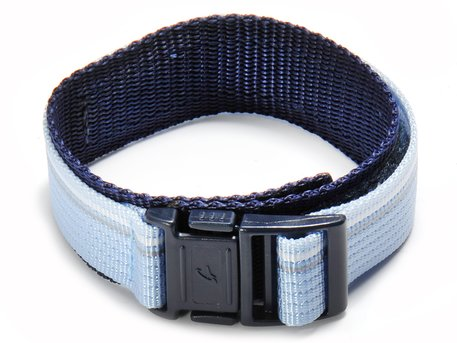 Genuine Casio Replacement Light Blue Velcro-Watch strap for Baby-G BG-3003V