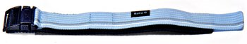 Genuine Casio Replacement Light Blue Velcro-Watch strap...