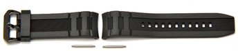 Genuine Casio Replacement Black Resin Watch Strap for...