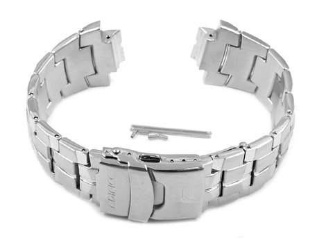 Genuine Casio Replacement Stainless Steel Watch Strap Casio for Edifice EF-554D-1 and EF-554D-7