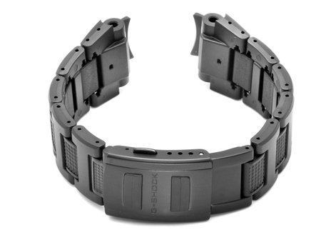 Genuine Casio Black Resin Link Composite Bracelet / Watch Strap Casio for GW-A1000FC-1A