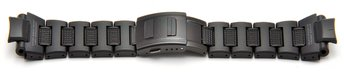 Genuine Casio Black Resin Link Composite Bracelet / Watch...