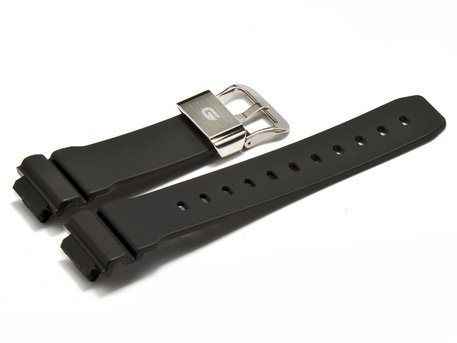 Genuine Casio Black Resin Watch strap for GB-6900B-1ER
