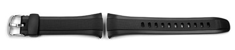 Genuine Casio Replacement Black Resin Watch Strap for WVQ-M410, WVA-M640