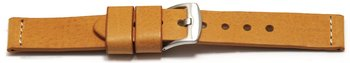 Watch strap - Genuine saddle leather - Ranger - light...