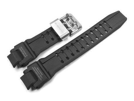 Genuine Casio Replacement Black Resin Watch strap for GW-A1000-1A, GW-A1000