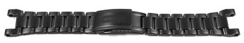 Watch strap Casio for GW-A1000D-1AER, black stainless steel