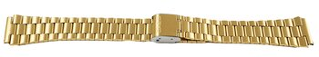 Genuine Casio Replacement Gold Tone Stainless Steel Watch...