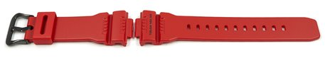Genuine Casio Replacement Red Resin Watch strap for GW-7900RD-4