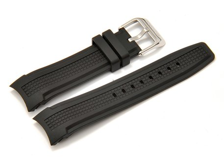 Genuine Festina Black Rubber Replacement Watch Strap for F16561
