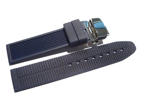 Butterfly - Watch strap - Silicone - Waterproof - blue