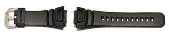 Genuine Casio Replacement Black Rubber Watch Strap for...
