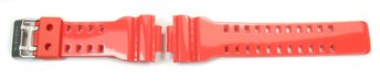 Genuine Casio Shiny Red Resin Watch strap for G-8900A-4,...
