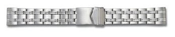 Stainless Steel watch band - 3 links - Solid look II -...
