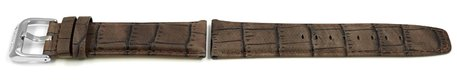 Genuine Festina Brown Leather Watch strap for F16573