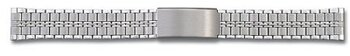Stainless Steel watch band - polished and brushed - 12,14 mm