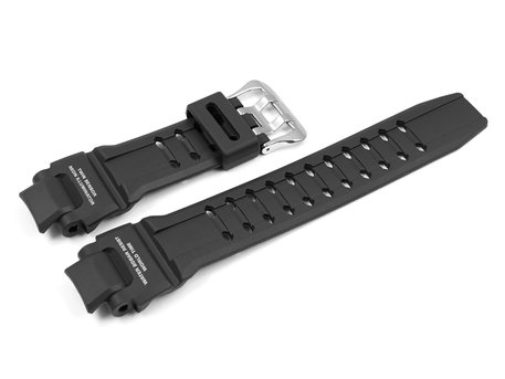 Genuine Casio Black Resin Replacement Watch Strap for GA-1000-1A, GA-1000