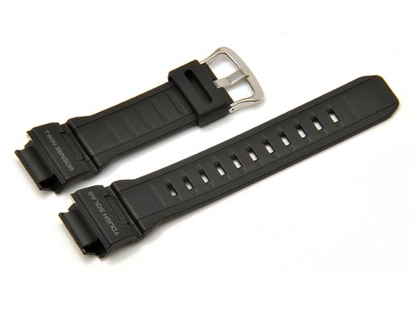 Genuine Casio Black Resin Watch strap Casio for G-9300, G-9300-1