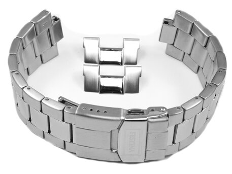 Genuine Festina Replacement Stainless Steel Watch Strap for F16658