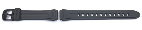 Genuine Casio Replacement Black Resin Watch Strap Casio for LW-201