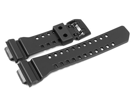 Genuine Casio Replacement Black Resin Watch Strap for GA-400, GA-400-1