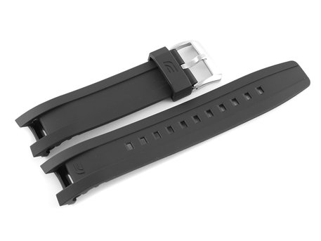 Genuine Casio Black Resin Replacement Watchstrap f. EQW-A1200RP, EQW-A1200B