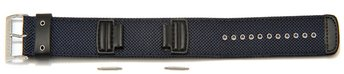 Watch strap Casio for G-300L, G-350L, G-303 Blue Cloth/...