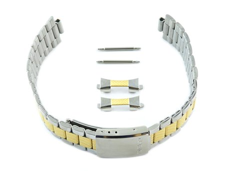 Watch Strap /Bracelet Casio for MTP-1274SG, MTP-1274SG-7, stainless steel bicolor
