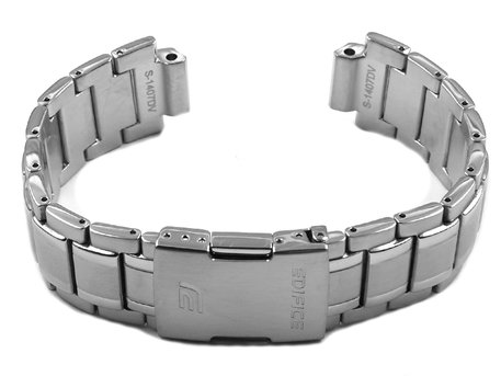 Genuine Casio Stainless Steel Watch Strap Bracelet for EQB-510D, EQB-510D-1A