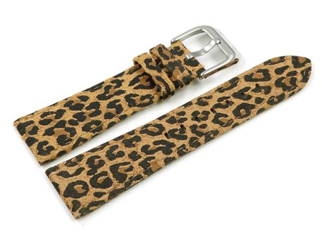 Leopard Coloured Leather Strap Festina for F16590/5, F16590