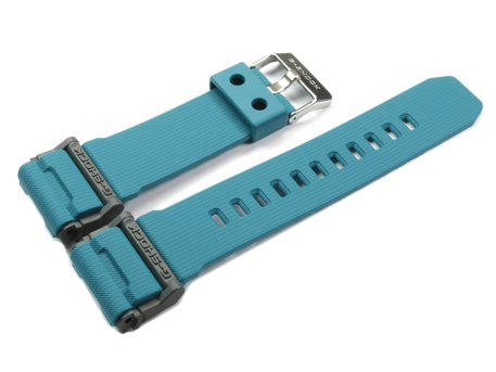 Casio Replacement Blue Resin Watch Strap for GD-400-2, GD-400