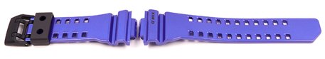 Purple Blue Resin Replacement Watch Strap Casio for GBA-400-2A, GBA-400