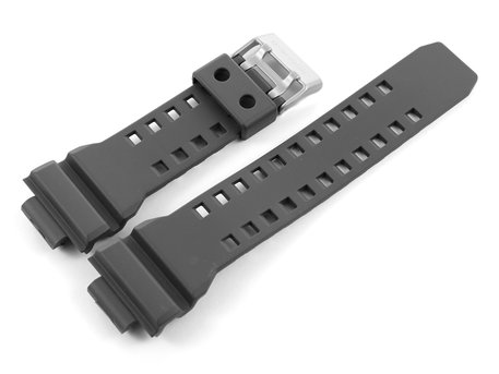 Grey Resin Watch strap Casio f. GD-350, GD-350-8