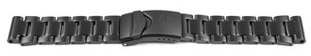 Casio Black Stainless Steel Watch Band Bracelet Casio for...