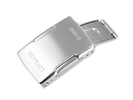 Deployment Buckle Casio for Watch Strap LCW-M100DSE, stainless steel