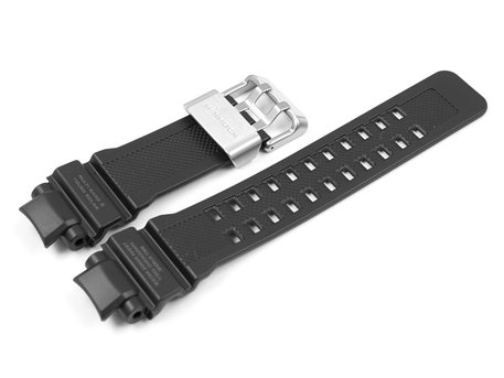 Genuine Casio GW-A1100-1A Replacement Black Resin Watch strap