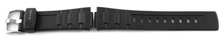 BLX-102, BLX-102-1, BLX-102-1ER Casio Replacement Black Resin Watch Strap