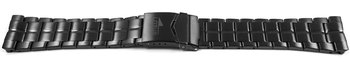 Lotus Black STAINLESS STEEL watch band for 10110
