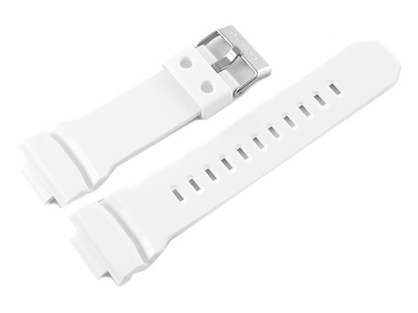 Genuine Casio Replacement White Resin Watch Strap for GA-150, GA-150MF