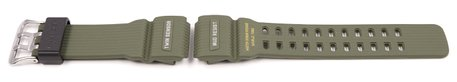 Casio Military Green Resin Replacement Watch Strap for GG-1000-1A3, GG-1000-1A3ER