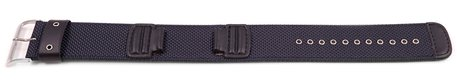 Blue Cloth Watch Strap Casio for AW-591MS-2A