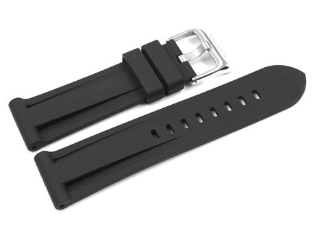 Black Rubber Watch Strap Festina for F16574/4, F16574