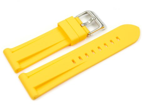 Yellow Rubber Watch Strap Festina for F16574/1 F16574