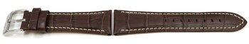 Lotus Brown leather band for 15411/8, 15411